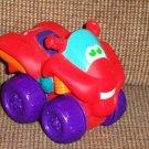 Playskool Tonka Wheel Pals Red ATV Loose Used