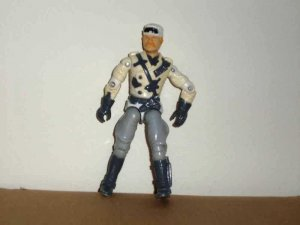 G.I. Joe 1989 Series 8 Windchill Version 1 Action Figure Hasbro Loose