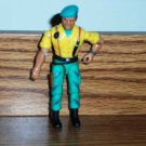 The Corps Hammer Yellow and Green Action Figure Lanard Toys 1986 Loose Used