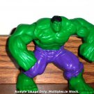 McDonald's 2010 Marvel Heroes Hulk Figure Happy Meal Toy Loose