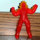 McDonald's 2010 Marvel Heroes Human Torch Figure Lights Up Happy Meal Toy Loose Used