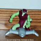 McDonald's 2009 Spectacular Spider-Man The Green Goblin Figure Happy Meal Toy Marvel Loose Used