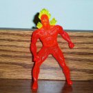 McDonald's 1996 Marvel Super Heroes Human Torch Figure Happy Meal Toy Marvel Loose Used