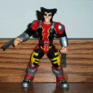 X-Men Power Slammers Wolverine Action Figure Only Toy Biz 1998 Marvel Toy Loose Used