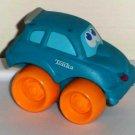 Playskool Tonka Wheel Pals Mini Blue Hatchback Car Tonka Logo Loose Used