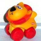 Playskool Wheel Pals Mini Animal Tracks Lion Loose Used