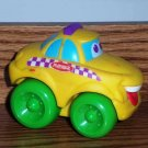 Playskool Wheel Pals Yellow Taxi Cab Car Loose Used