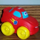 Playskool Tonka Wheel Pals Red Race Car #9 Loose Used
