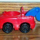 Fisher-Price Red Tow Truck from Little People Discovering Vehicles at the Garage 77604 Loose Used
