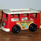 Fisher-Price Vintage Little People Mini-Bus FP-141 1969 Loose Used