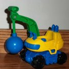 Fisher-Price Crane with Wrecking Ball from Little People Stack 'N Crash Worksite Loose Used