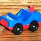 Fisher-Price Little People Police Car #125 No License Plate Loose Used