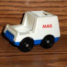 Fisher-Price Little People Mail Truck from 1986 Play Family Main Street Playset Loose Used