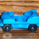 Fisher-Price Little People Blue One Seat Car 1993 Loose Used