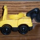 Fisher-Price Little People Yellow and Black Tow Truck Roadside Rescue Mattel Loose Used