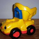 Fisher-Price Little People Lil' Movers Dump Truck J0240 Mattel 2005 Loose Used