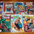 Thor and Related Titles Lot of 9 Comics Marvel