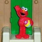 Fisher-Price Sesame Street 40th Anniversary Elmo PVC Figure Mattel Loose Used