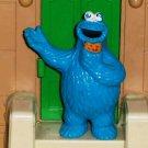 Sesame Street Applause Cookie Monster Waving PVC Figure Loose Used