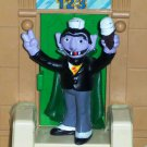 Sesame Street Tara Toys Count with Ice Cream PVC Figure Loose Used