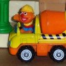 Sesame Street Mattel 2001 Ernie in Cement Truck Loose Used