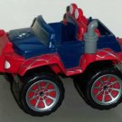 Marvel Super Hero Squad Spider-Man Battle Truck Hasbro 2007 Loose Used