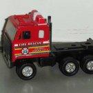 Remco 1987 Fire Rescue Semi Truck Loose Used