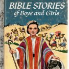 Bible Stories of Boys and Girls Little Golden Book 1980 10th Printing Used