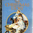 The Christmas Story Little Golden Book 1996 Printing Used