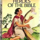 Little Golden Book  Heroes of the Bible 9th Printing 1980 Used