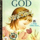 Little Golden Book  My Little Golden Book About God 1993 Edition Used