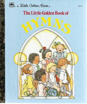 Little Golden Book of Hymns 5th Printing Used EX