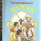 Little Golden Book of Hymns 5th Printing Used GD-VG