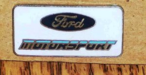 Ford Motorsport Logo Nascar Racing Collector&#039;s Pin Loose Used
