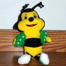 Hometown Buffet Restaurant H. T. Bee Plush Toy 1998 Loose Used