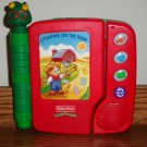 Fisher-Price Little People Counting on the Farm Electronic Book Loose Used