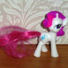 McDonald's 2011 My Little Pony Rarity Happy Meal Toy Hasbro Loose Used