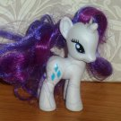 My Little Pony 2010 Rarity Single Toy Hasbro Loose Used
