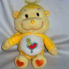 "Care Bear Cousins Playful Heart Monkey 9"" Loose Used"