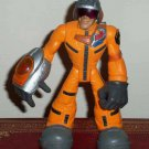 Playskool Major Powers and The Star Squad Captain Jumpjet Flyer Action Figure Loose Used