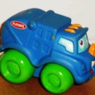 Playskool Wheel Pals Blue Garbage Truck with Green Wheels Trash Recycle Loose Used