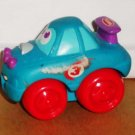 Playskool Wheel Pals Blue Race Car #3 with Red Wheels Loose Used
