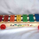 Fisher-Price #870 Pull-A-Tune Xylophone 1978 Loose Used