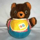 Fisher-Price #719 Cuddly Cub Chime Bear 1970s Loose Used