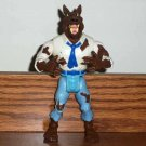 Real Ghostbusters Wolfman Monster Action Figure Kenner 1989 Loose Used