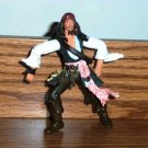 Pirates of the Caribbean Dead Man's Chest Jack Sparrow Final Battle Figure Zizzle 2007 Loose Used