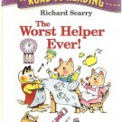 The Worst Helper Ever Road to Reading Mile 2 Paperback by Richard Scarry Used Good