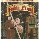 The Adventures of Robin Hood Young Collector's Illustrated Classics Series Hardcover Book Used