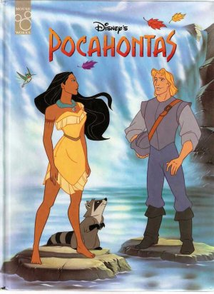 Disney's Pocahontas Disney Classic Series Mouse Works Hardcover Used