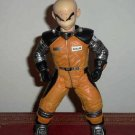"""Dragon Ball Z Movie Collection 9"""" Krillin in Space Suit Action Figure Loose Used"""